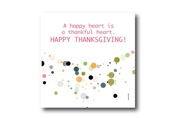 Digital Thanksgiving Greeting Card Wishes