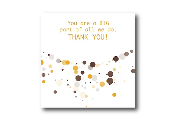 Digital Employee Appreciation card wishes, instant download, printable at home, Pantone Colors Daylily Color