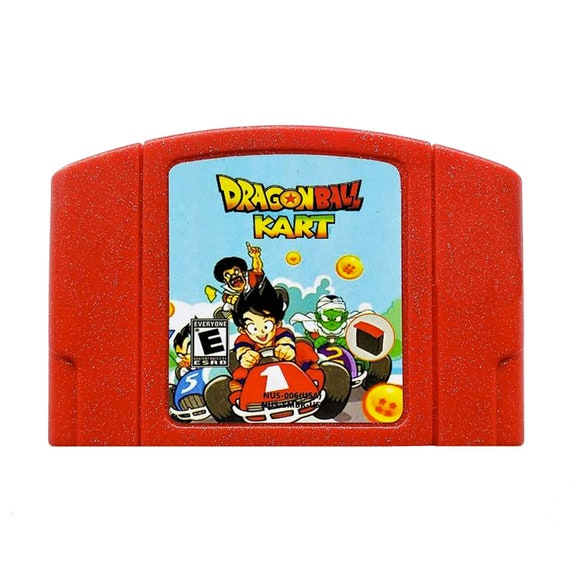 Dragonball Kart N64 Nintendo 64 Mario Kart With Dragon Ball Z