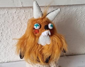 Mini Fozzy the Fluffy Fox designer plushie