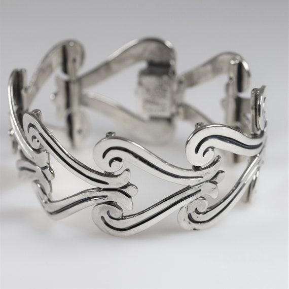 Maricela Taxco Mid-Century Heart Bracelet | Vintag