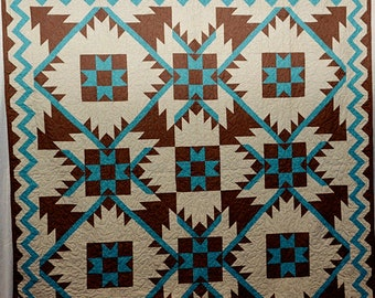 Southwest Mountains Quilt Pattern!