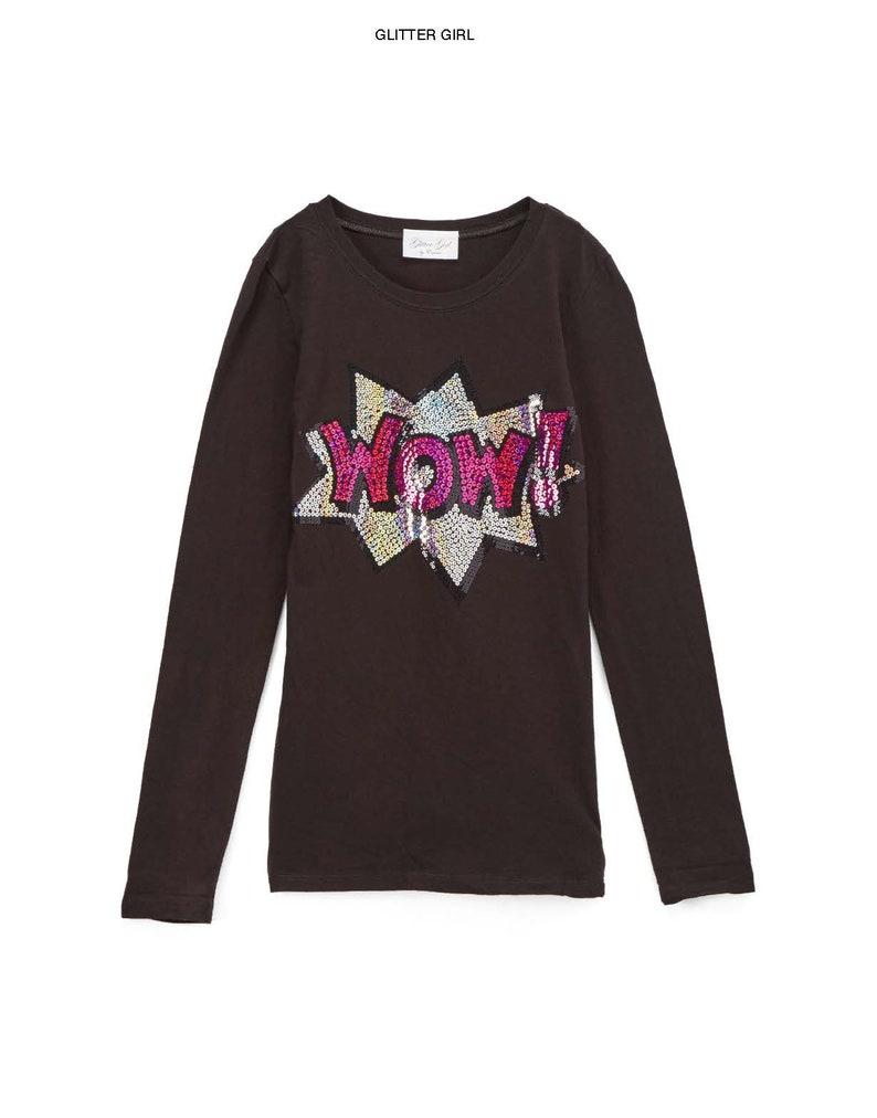 WOW Girls /& Toddler Long sleeve T shirt