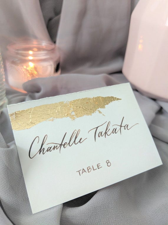 Priced and Sold Individually Small Laser Cut Wood Name Escort Place Card for Table Decorations Wood Place Card Names Cutouts for Wedding Party or Event