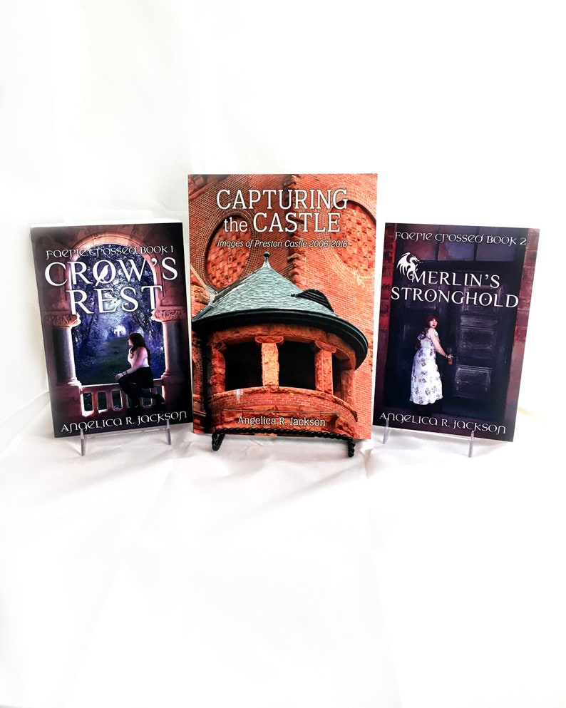Signed Books by Angelica R. Jackson image 0