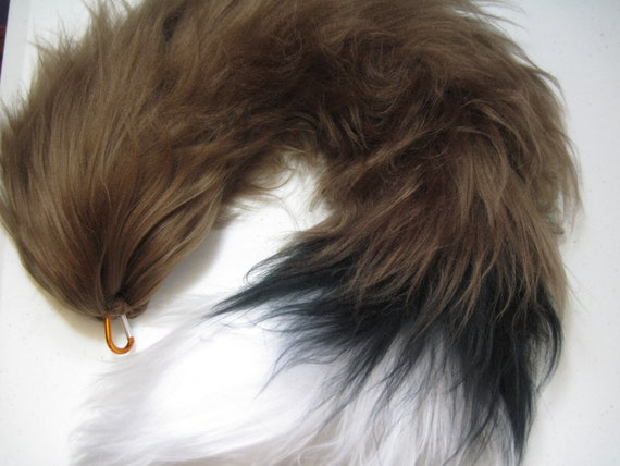 Natural Fox Yarn Tail