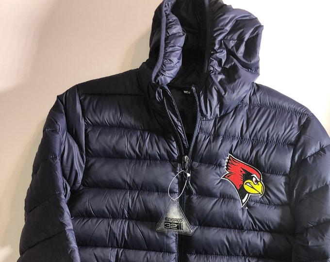 Youth packable Illinois State University jacket