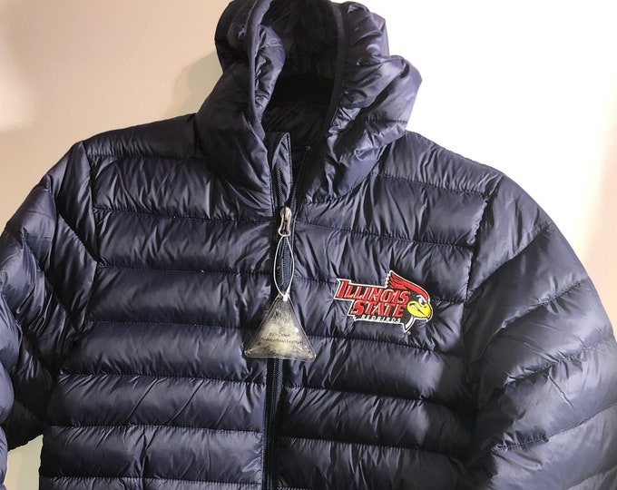 32 degrees Youth Packable jacket with Illinois State University logo