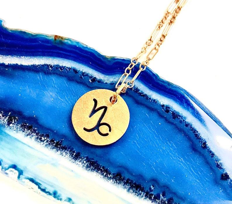 Zodiac Jewelry Gold Aquarius Zodiac Necklace Zodiac Necklace Minimalist Necklace Gold Layering Necklace Aquarius Necklace