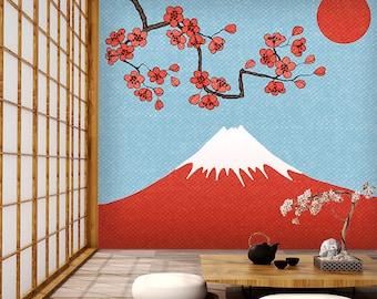 Fuji Wallpaper Etsy