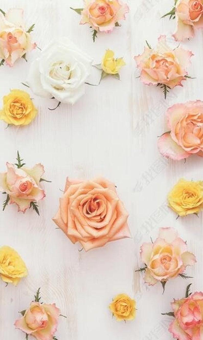 3D Flowers E103 Removable Wallpaper Self Adhesive Wallpaper Extra Large Peel /& Stick Wallpaper Wallpaper Mural AJ WALLPAPERS