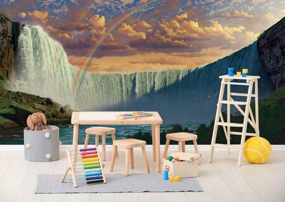 3D Niagara Falls C265 Removable Wallpaper Self Adhesive Wallpaper Extra Large Peel /& Stick Wallpaper Wallpaper Mural AJ WALLPAPERS Vincent
