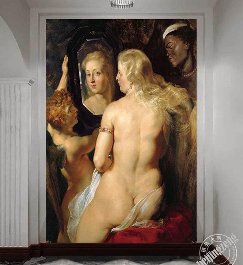 3D Oil painting D419 Removable Wallpaper Self Adhesive Wallpaper Extra Large Peel /& Stick Wallpaper Wallpaper Mural AJ WALLPAPERS