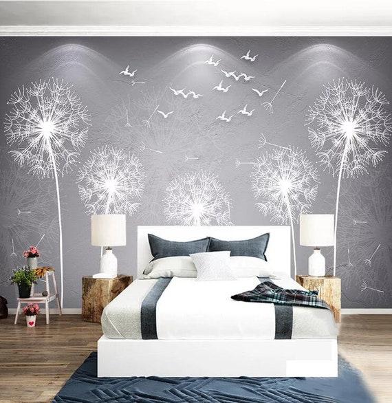 3D Dandelion A2201 Removable Wallpaper Self Adhesive Wallpaper Extra Large Peel /& Stick Wallpaper Wallpaper Mural AJ WALLPAPERS
