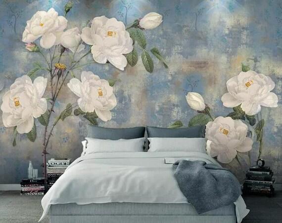 3D Pink Flower MMM26 Removable Wallpaper Self Adhesive Wallpaper Extra Large Peel /& Stick Wallpaper Wallpaper Mural AJ WALLPAPERS