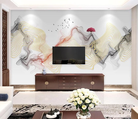 3D Abstract Painting M122 Removable Wallpaper Self Adhesive Wallpaper Extra Large Peel /& Stick Wallpaper Wallpaper Mural AJ WALLPAPERS