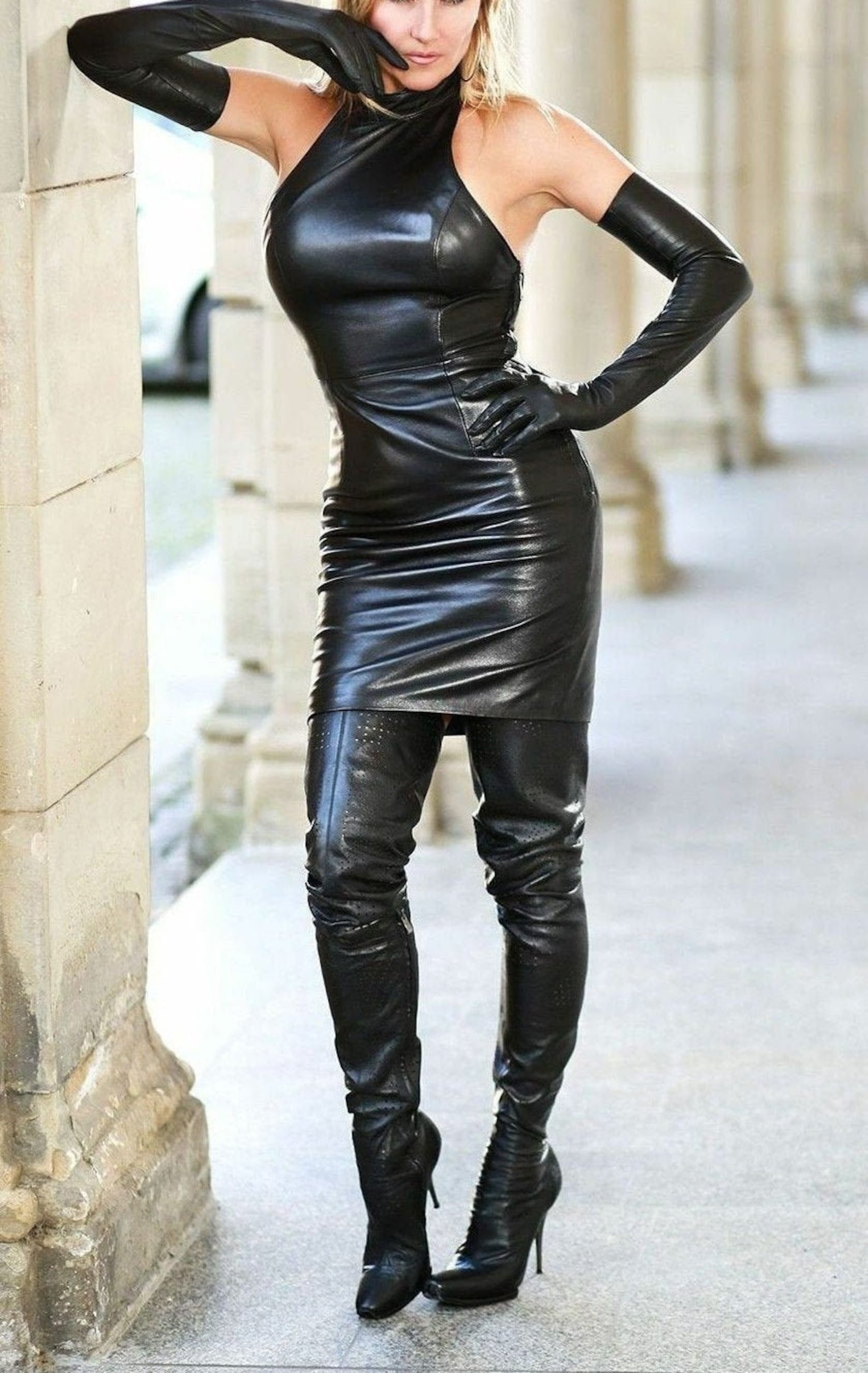 Wholesale Halloween Latex Sexy Outfit