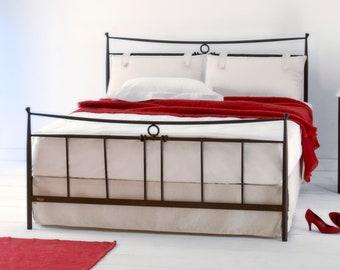 Modern design Handmade iron bed - Model Alexia
