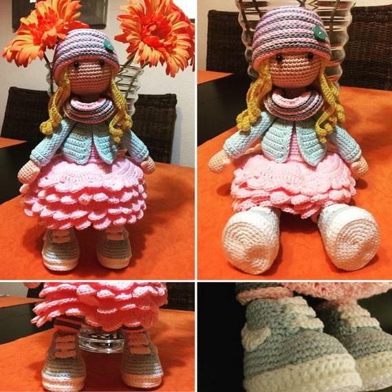 3D shape human amigurumi head crocheted by Sculpturingface with ... | 570x570
