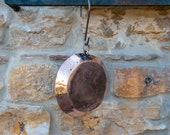 Small Copper Dish Antique French Pan 18th Century Cookware Cooking Copper Pan Petit Plat en Cuivre Quality Antique