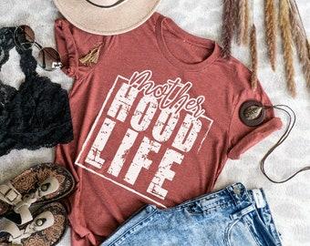 Motherhood Life Shirt - Funny Mom Shirt - New Mom Shirt - Sarcastic Mom Shirt - Trendy Graphic Tee - Funny Sayings Shirt - Mom Life Shirt