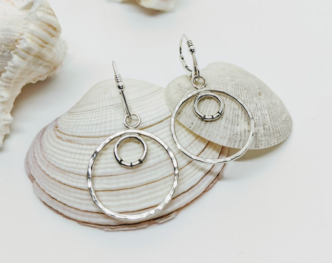 Perfectly Simple Circle Earrings!