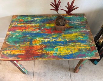 Funky Coffee Table   Etsy