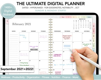 Digital Planner Goodnotes, Ipad Planner, Daily Planner, Weekly Planner, Dated Planner