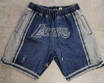 b39681a2ec New Men's All-Star Los Angeles Lakers just don LOGO Basketball Pants Shorts
