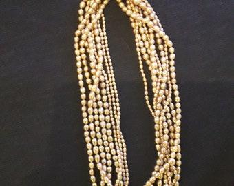 014b5cf2317a Collar de perlas rosa