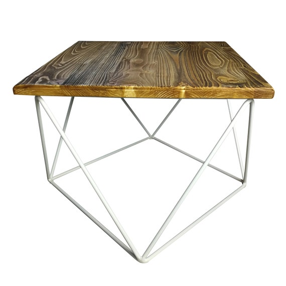 Brilliant Coffee Table Old Wood Square Steel Frame Reclaimed Wood Simple Coffee Table With Metal Frame Machost Co Dining Chair Design Ideas Machostcouk