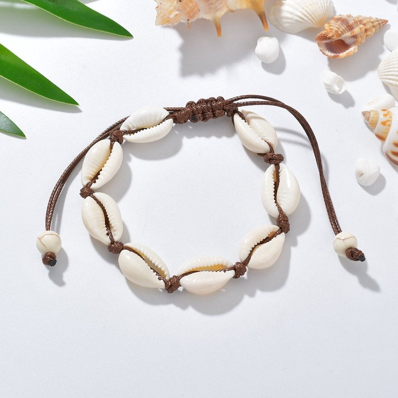 seashell anklets anklet cowrie anklet mussel anklet cowrie anklets shell anklet for woman shell jewelry ON SALE seashell jewelry