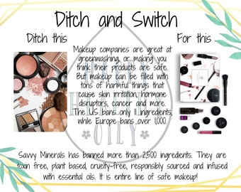 Ditch and Switch Series 1 Postcards 1 of 3