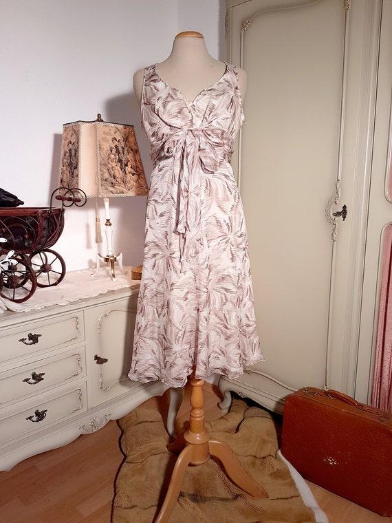 Vintage Armani Collezioni Silk Cocktail Dress   19