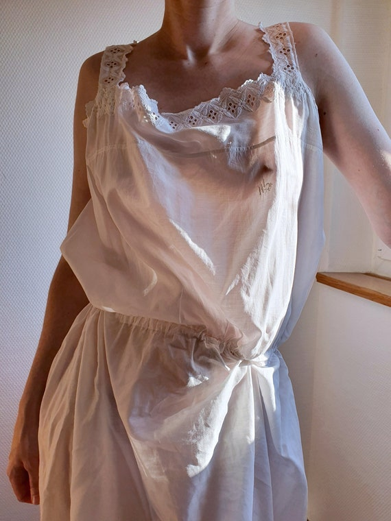 Antique Grecian Style Early 20th Century Nightgown