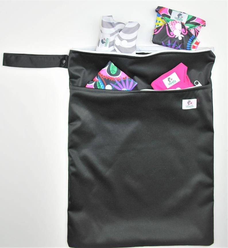 Big Wet Bag 30cm x 40cm for baby nappies reusable cloth image 0