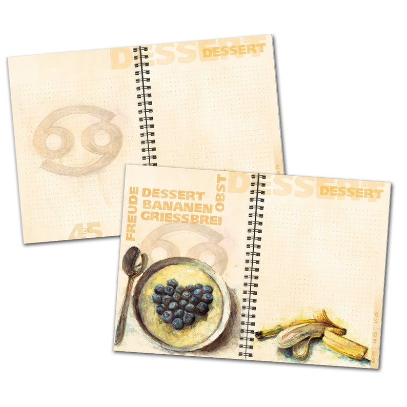 Zodiac sign Cancer-Cookbook for own recipes