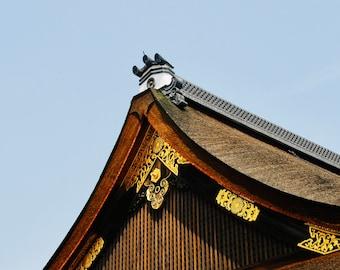 Kyoto Skyline - Japan - Digital Image