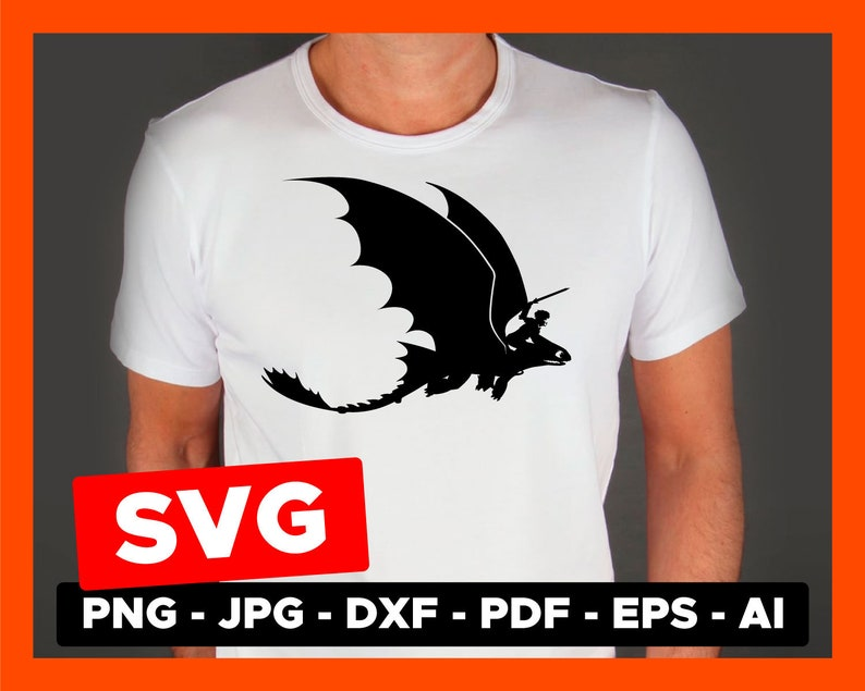 Hiccup Svg Dragon Toothless Vector Clipart Cameo Silhouette Etsy