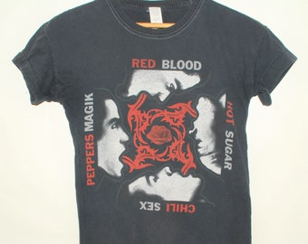 f81629a645da6 Vintage Red Hot Chili Peppers Blood Sugar Sex Magik T Shirt 90s Bootleg