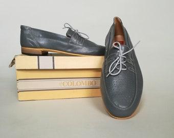 acc6b7635 Mocassins et chaussures sans lacets pour hommes - Vintage | Etsy FR