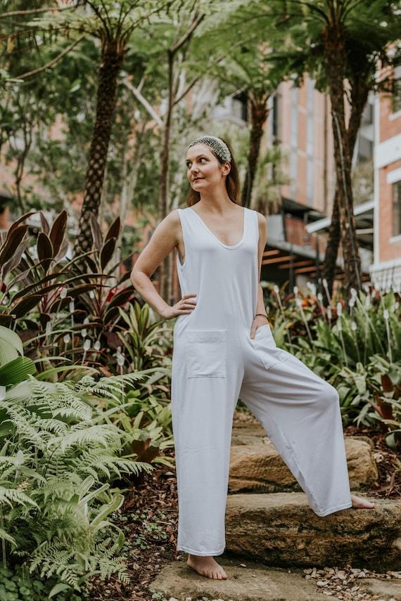 Aquarian Kundalini White Clothes Jumpsuit