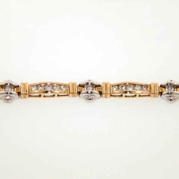 Two-Tone Diamond Bracelet