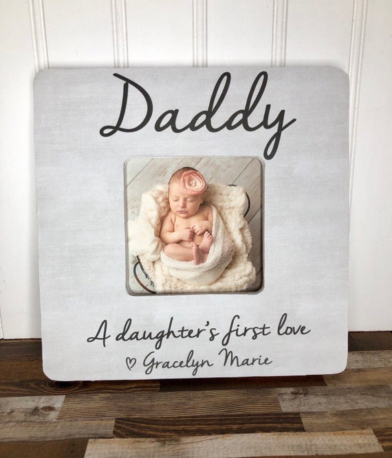 daddy and me picture frame father/'s day gift Dad picture frame I love my daddy frame custom picture frame personalized picture frame
