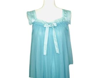 medium 1950\u2019s Ruffle Nightgown