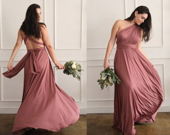 baee4deec06 Bridesmaid Dress | Convertible Dress | Infinity Dress | Bridesmaid Gown |  Maternity Dress | Convertible Gown | Prom Dress | Maxi Dress