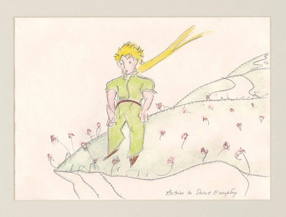 Der Kleine Prinz Der Nach Antoine De Saint Exupéry Französische Kinder Exupery