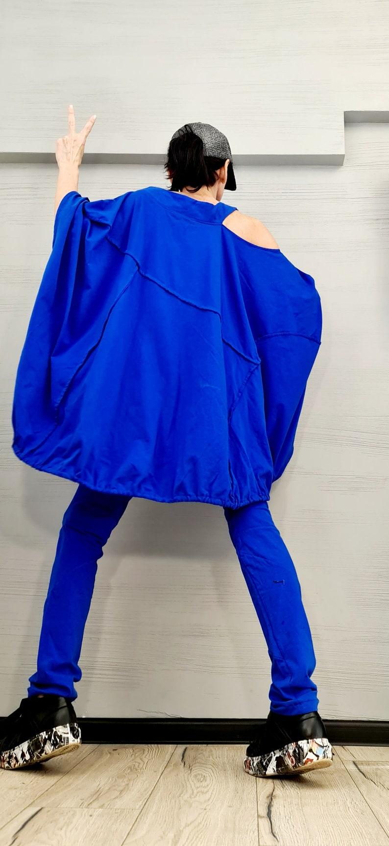 Asymmetric Tunic Top Women Designer Set Leggings Tunic Set Asymmetric Cotton Set New collection Extravagant Cotton Women Set