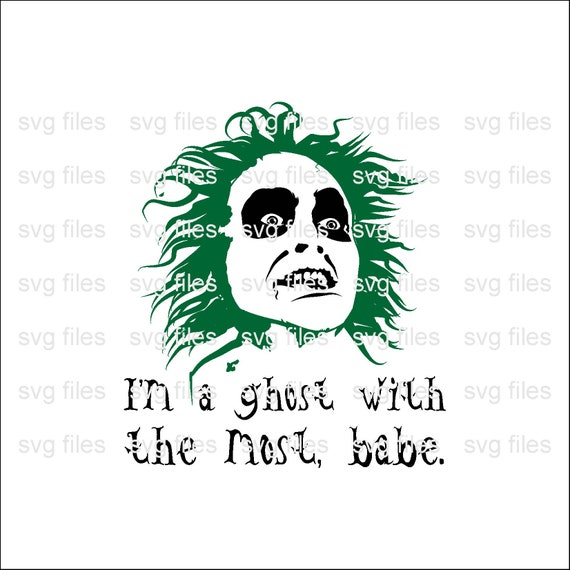 Beetlejuice Quotes Svgbeetlejuice Face Svgbeetlejuice Svgi Etsy