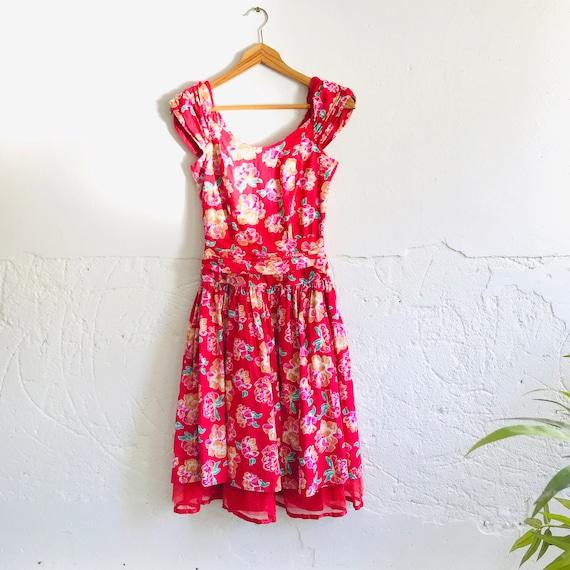 Vintage 1980's Laura Ashley dress